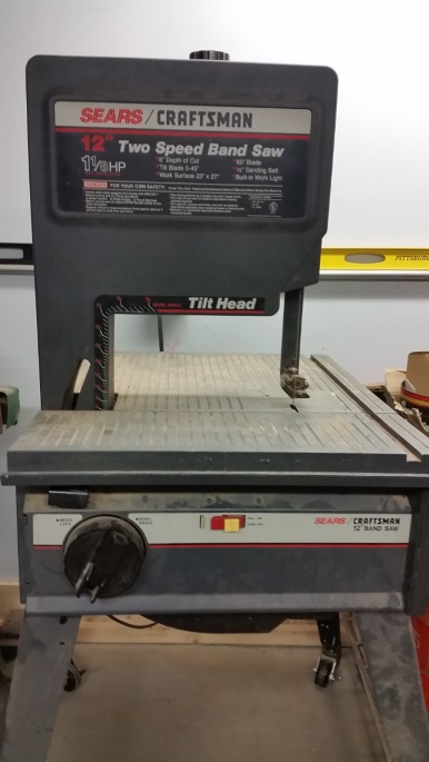 Craftsman 12 Inch Two Speed Band Saw Triple Cities